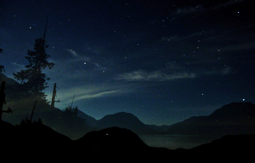 The lake and the universe, Sept. 12, 2014 Bruce Witzel photo