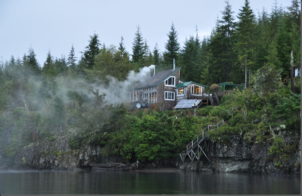 View of the cabin from the lake - bruce witzel photo