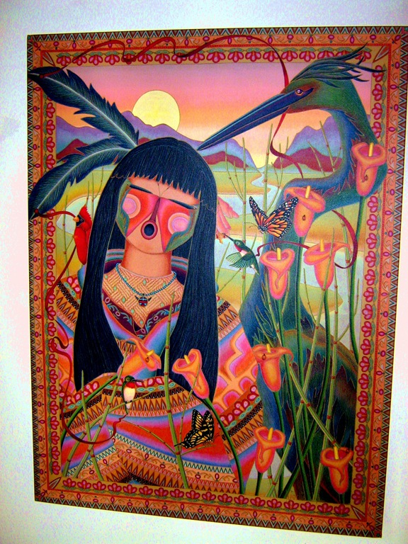 Artwork from Tubac Arizona - artist unknown