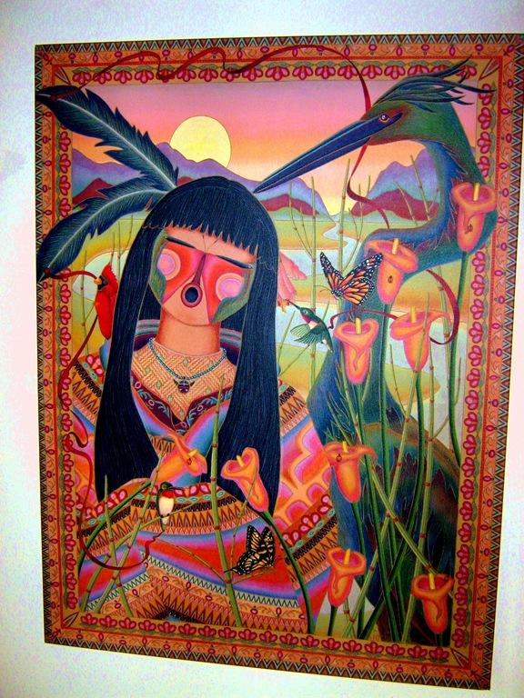 Artwork from Tubac Arizona - artist unknown