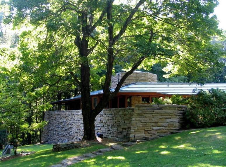 Kentuck Knob designed by Frank Lloyd Wright - bruce witzel photo