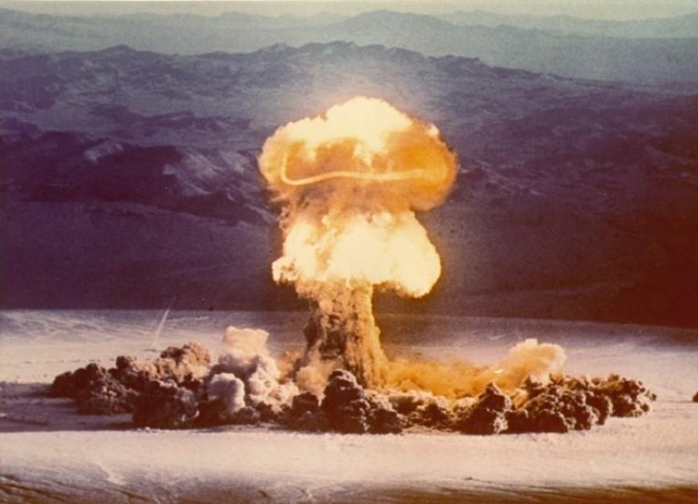 Nevada Nuclear Test Site - public domain