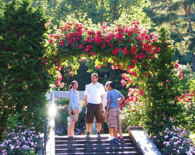 Rose Garden, Washington Park - Portalnd Oregon - bruce witzel photo