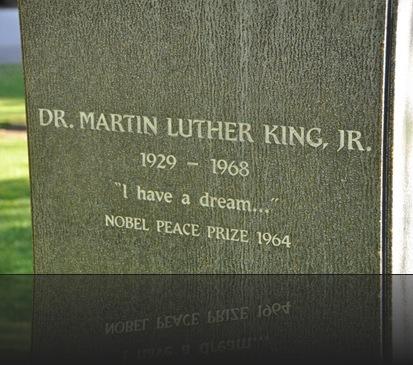 Dr. Matin Luther king Jr. Memorial, Fresno California- bruce witzel photo
