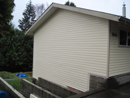 House siding finished - by bruce witzel