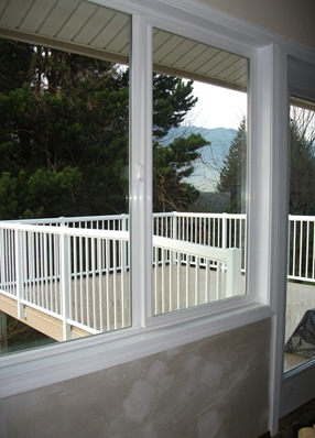 Looking out to new deck - photo by Laura Goatham
