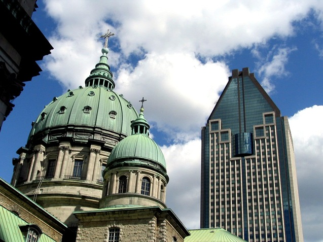 Downtown Montreal - bruce witzel photo