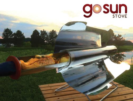 GoSun Solar oven - photo source unknown