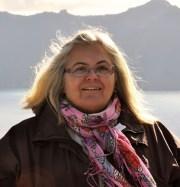 Fran, at the real Crater Lake.