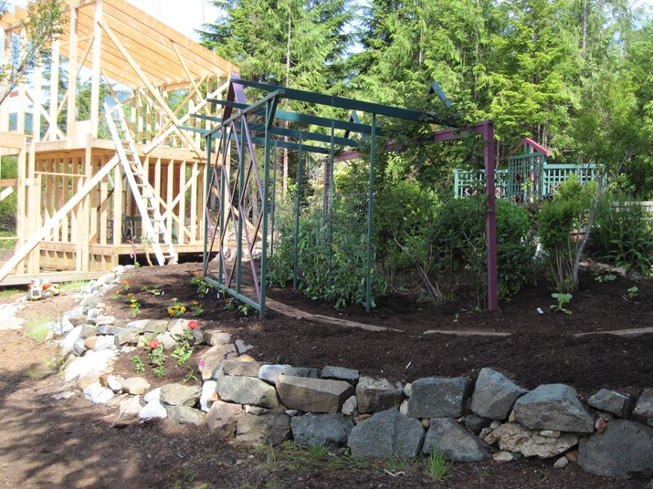 Greenhouse and shop nexr to garden arbors - bruce witzel photo