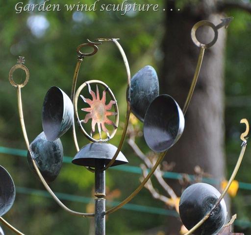 Our garden wind sculpture - bruce witzel photo