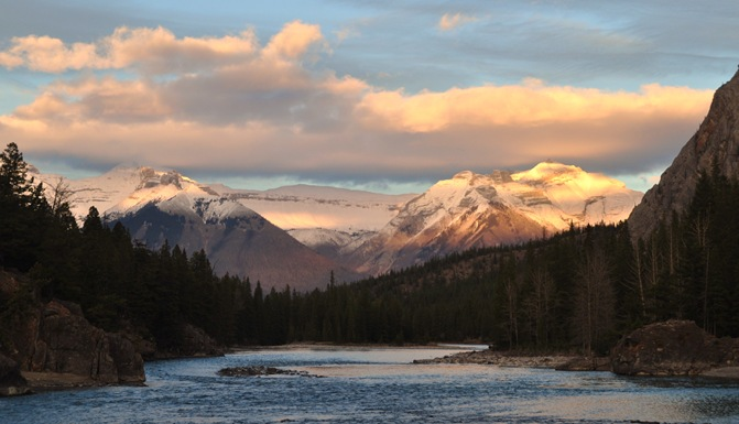 Bow River in Banff Alberta - Bruce Witzel photo