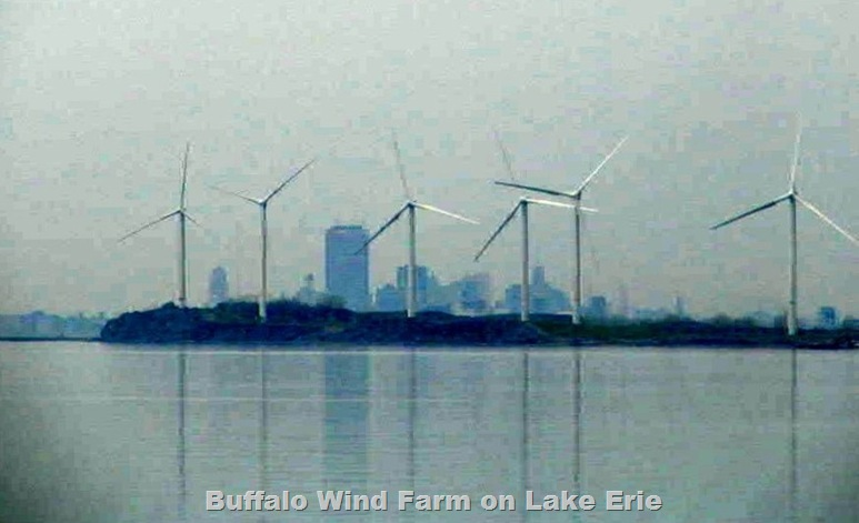 Buffola Wind Turbines, April  2008 - photo & effects, Bruce Witzel