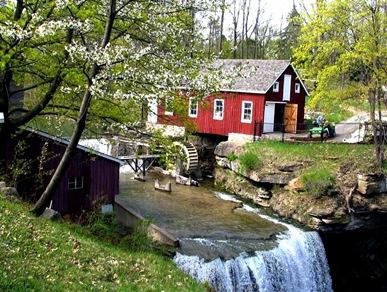 Hydro power mill - bruce witzel photo