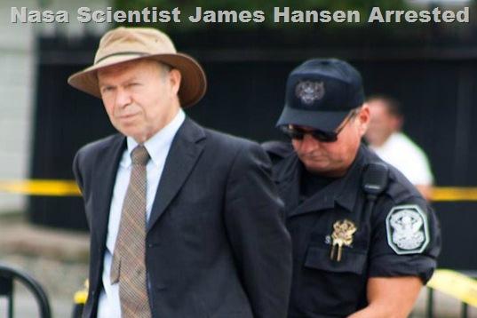 NASA Scientist James Hansen Arrested