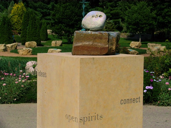 Pathway to Peace, representing the Communities feeling about the meaning of peace - photo by Bruce Witzel