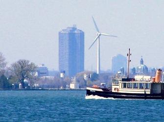 Toronto Co-operative Wind Turbine -bruce witzel photo