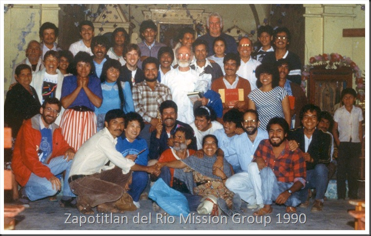 scanned slide 0125  Oaxaca 1990 - on tripod & timer by Bruce Witzel
