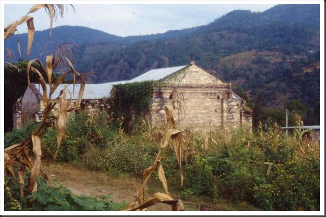 slides0212 Church in Zapotitlan del Rio, Oaxaca, October 1990 - Bruce Witzel photo