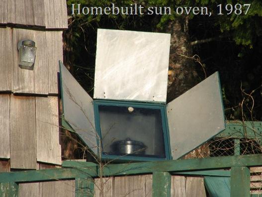 Homebuilt solar oven - by Bruce Witzel -2