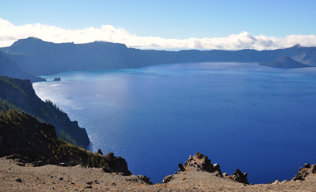 Crater Lake - by Bruce Witzel