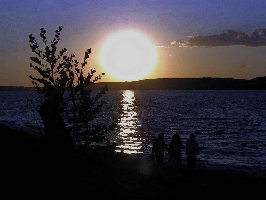 Lake Manitou, Saskatchewan - photo and effects by Bruce Witzel (2)