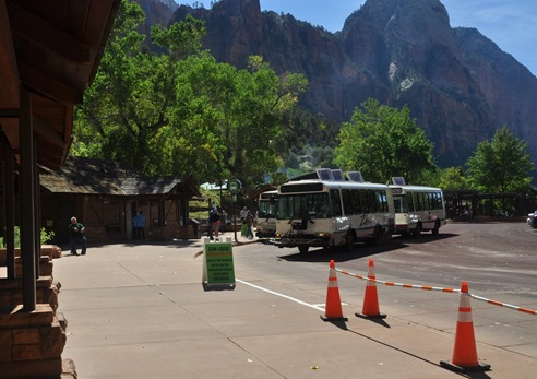 Shuttle service at Zion National Park - bruce witzel photo