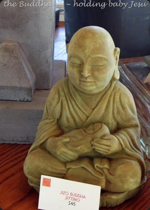 Buddha holding baby Jesu (2) - bruce witzel photo