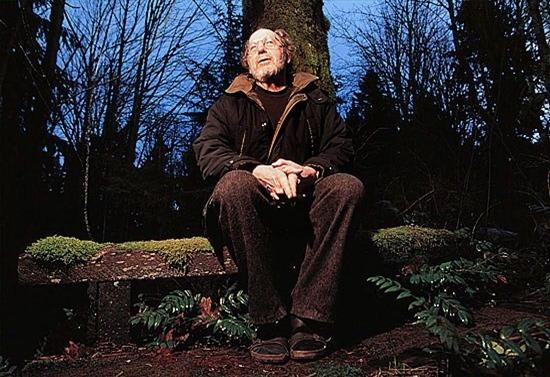 Charles Brandt at his hermitage - photo by Nick Didlick