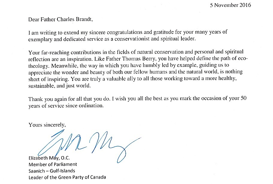 E. May letter to Fr. Charles Brandt (2)