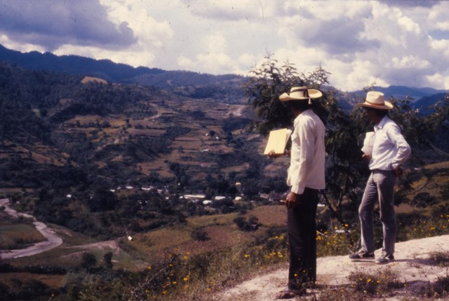 In the Mountains of Oaxaca, Mexico 1992 - bruce witzel photo