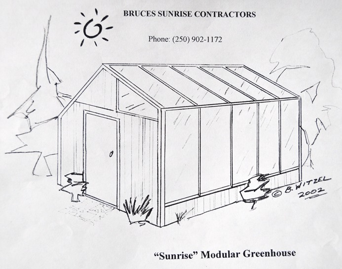Modular Solar Greenhouse design by b. witzel (2)