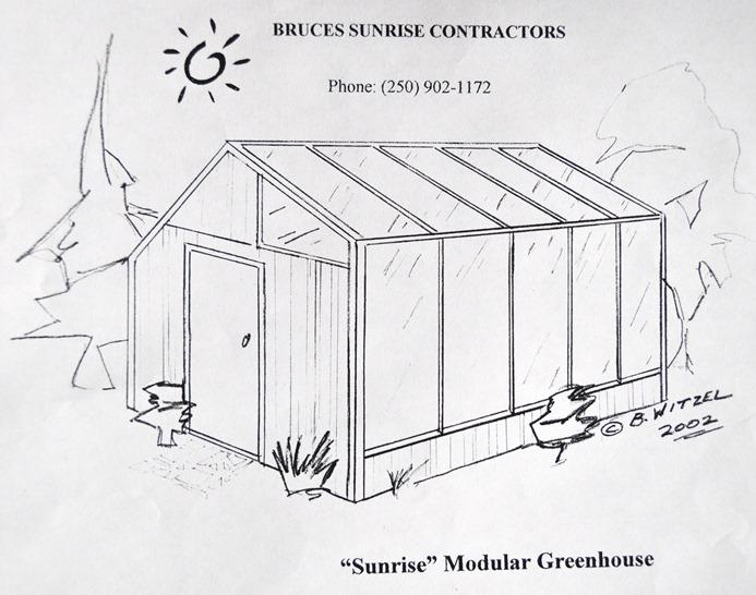 Modular Solar Greenhouse design by b. witzel (2)