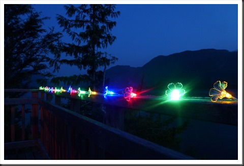 LED's Lights on our deck - bruce witzel photo