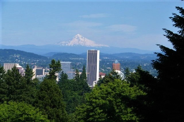 Looking towards Mount Hood and downtown Portland, Oregon - bruce witzel photo (2)