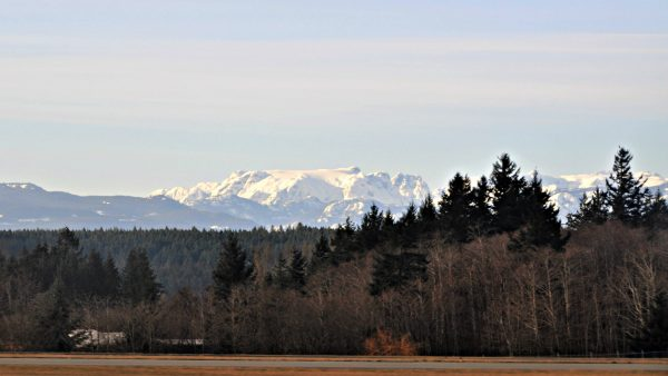 It's good to be back home safe on the ground on our beloved Vancouver Island.