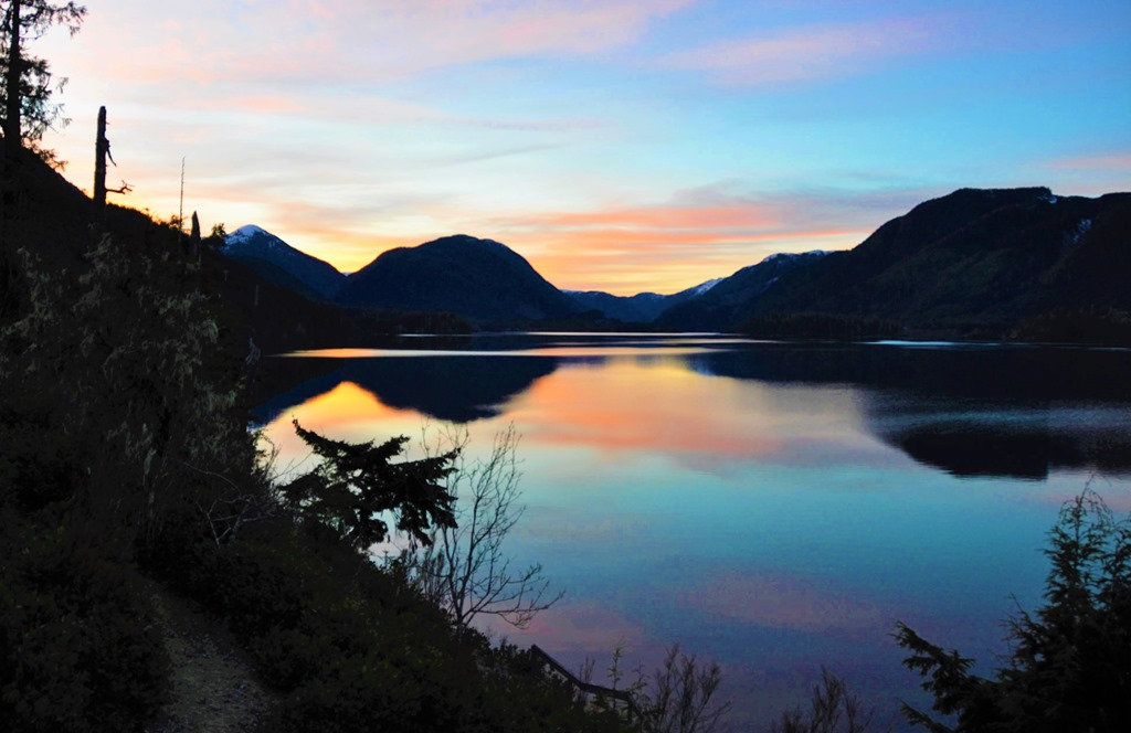 Lake at dawn on Feb. 2, 2017 - bruce witzel photo