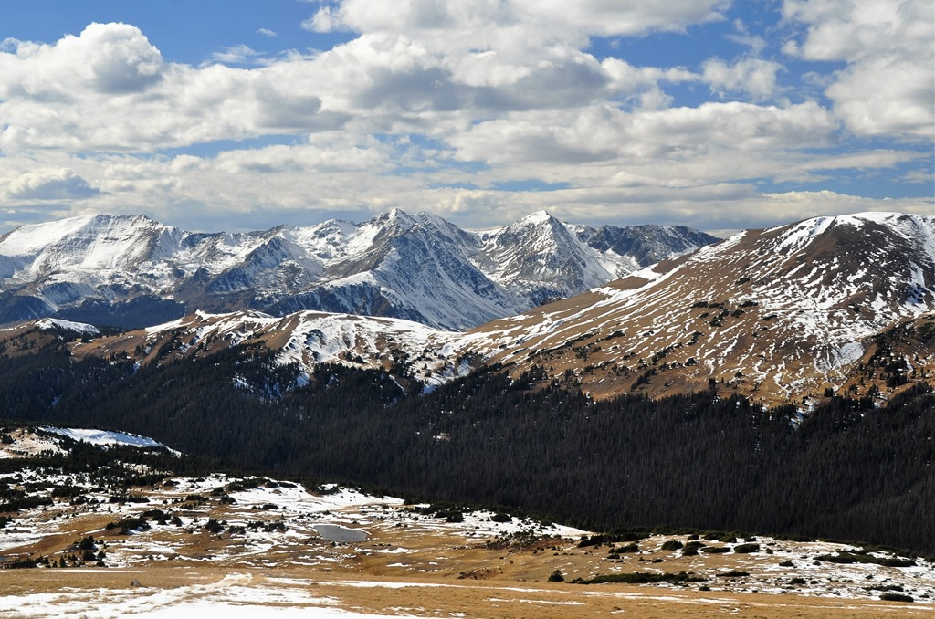 Rocky Mountain National Park, Colorado, from Trail Ridge Road, Oct. 14, 2016 - bruce witzel photo