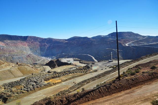 Big copper mine near Silver City, New Mexico Oct.11-2016 - bruce witel photo