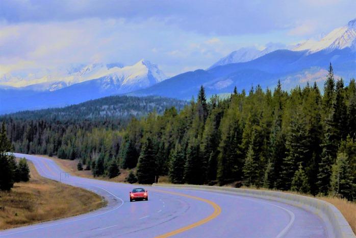 Higway 93 through Kootenay National Park, BC Canada Oct. 24-2014 - Bruce Witzel photo (2)