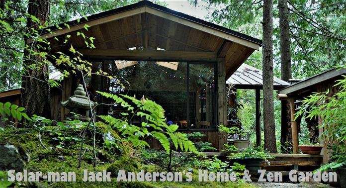 Jacks & Mary-Anne's Zen garden, Aug 23 -2013 - bruce wtizel photo