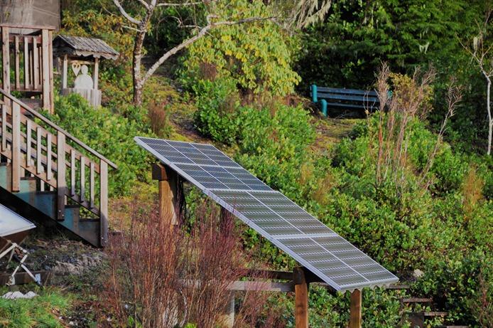 Our 1 kilowatt Solar Array - bruce witzel photo
