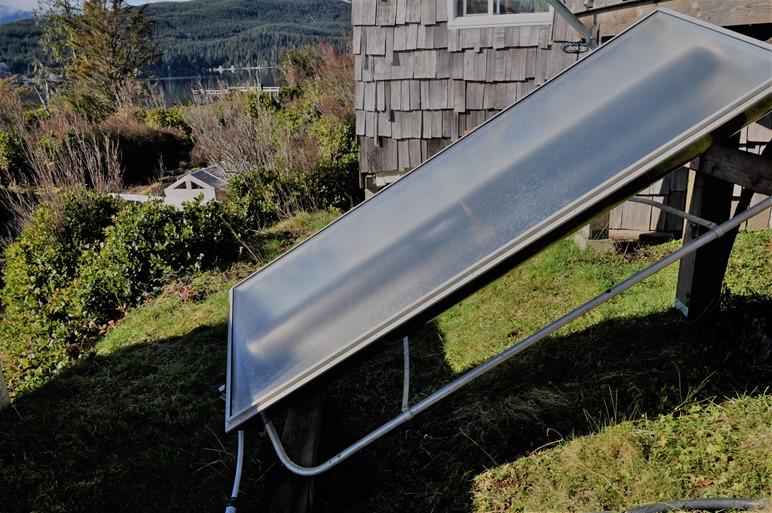 Solar hot water tank on Feb.18-2017 - bruce witzel photo