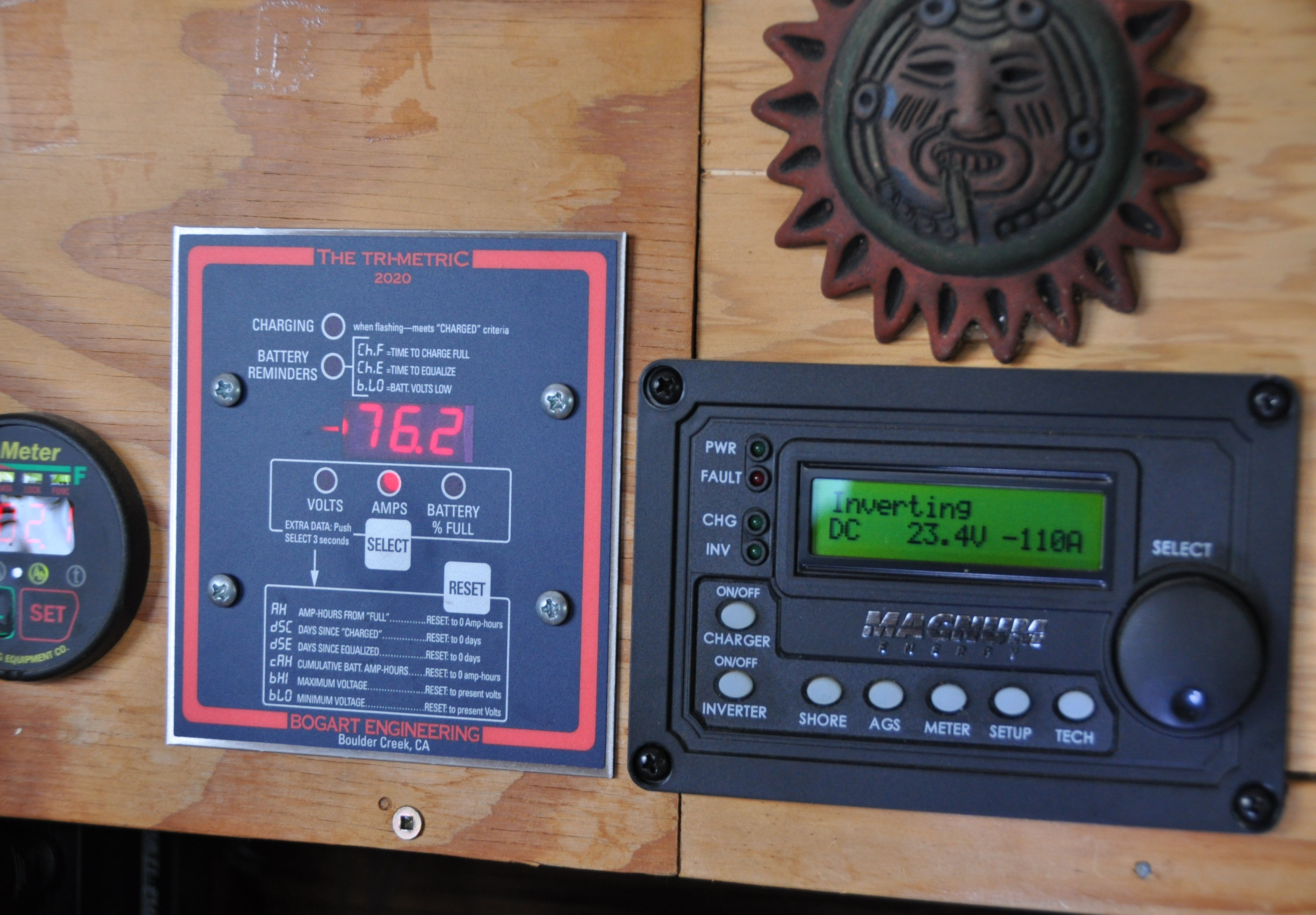 Cabin electrical meters - bruce witzel photo