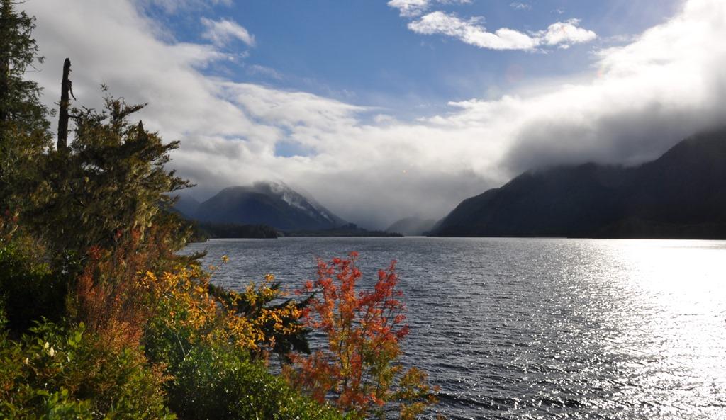 Autumn day on the lake, Oct. 24-2017 - bruce witzel photo