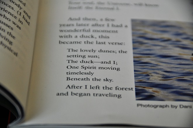 Jane Goodall poem in Banff Libreary journal article