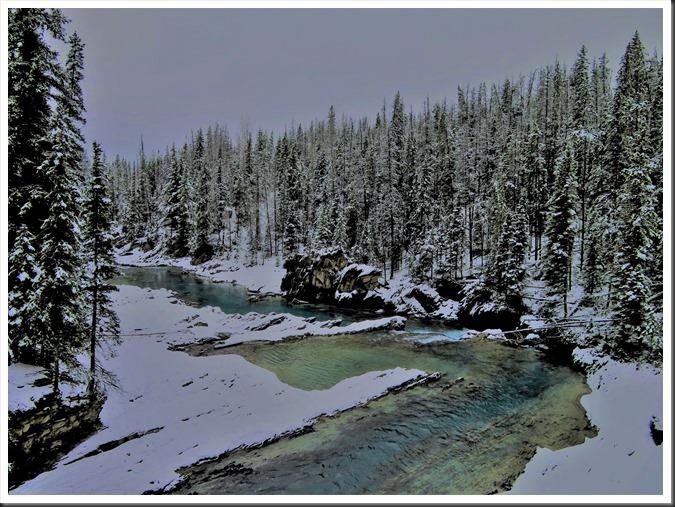 Kicking Horse River, Yoho National Park - British Columbia, Nov.26, 2017 - bruce witzel photo (2)