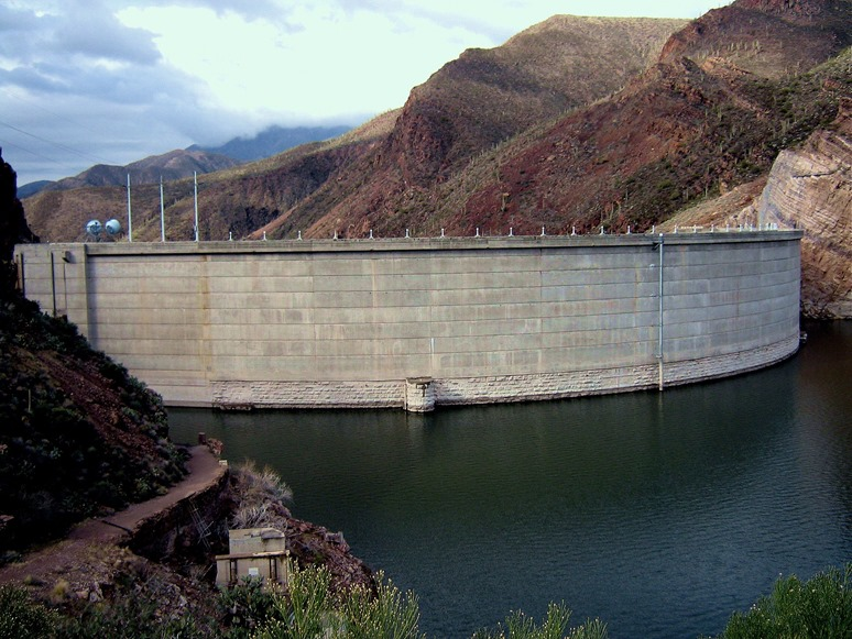 Rosevelt Dam in Arizona - bruce witzel photo