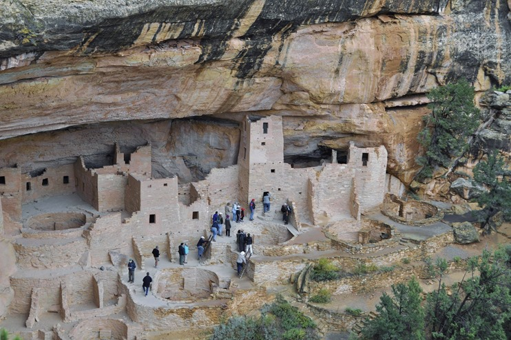 Cliff dwellings of Mesa Verde National Park, Colorado - bruce witzel photo