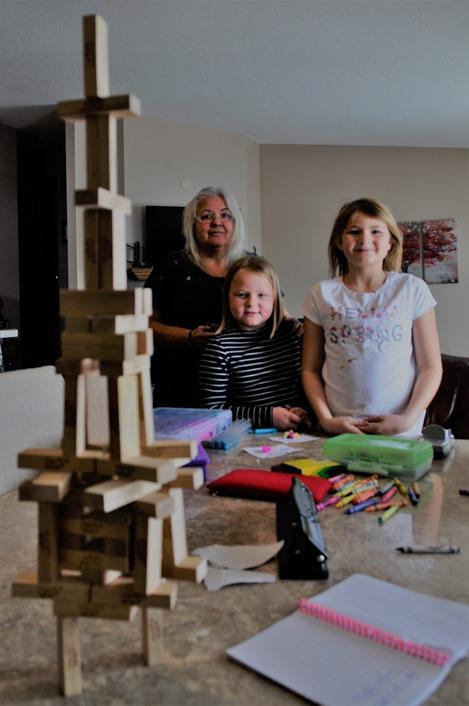 Grandma with kids, Easter 2018 - bruce witzel photo